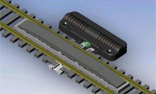 4x LEGO 99021 Pneumatic Connettore tubo Grigio scuro6020189