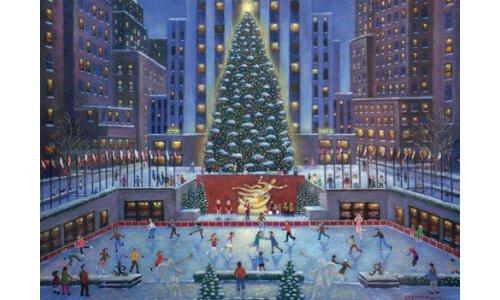 Christmas Jigsaw Puzzles.Ravensburger New York City Christmas Jigsaw Puzzle 1000 Pc Rb19563 3
